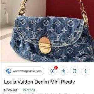 78bbd6ebae0d Women s Louis Vuitton Denim Bag on Poshmark